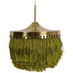 Fringed Pendant Designed by Hans-Agne Jakobsson for Markaryd, Sweden, 1960s