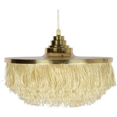 Fringed Pendant Designed by Hans-Agne Jakobsson for Markaryd, Sweden, 1960s