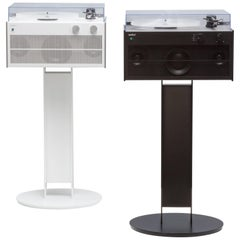 Modern Record Player with Stand