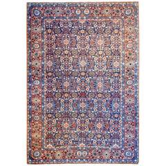Extraordinary Early 20th Century Yazd Rug