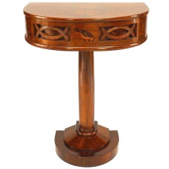 Italian Art Deco, 1930 Rosewood Console Table