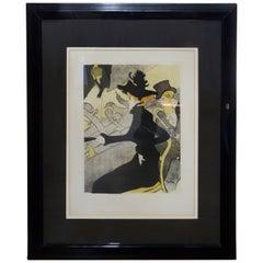 Henri de Toulouse Lautrec Divan Japonaise Lithograph, 1893