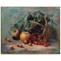 Still Life Oil Painting 1, Scotland, circa 1923