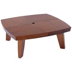 Angela Adams Sea Turtle Coffee Table, Walnut, Solid Wood, Handcrafted, Modern