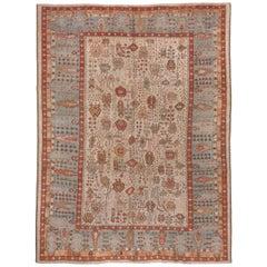 Late 19th Century Antique Ghiordes Carpet, circa 1880s