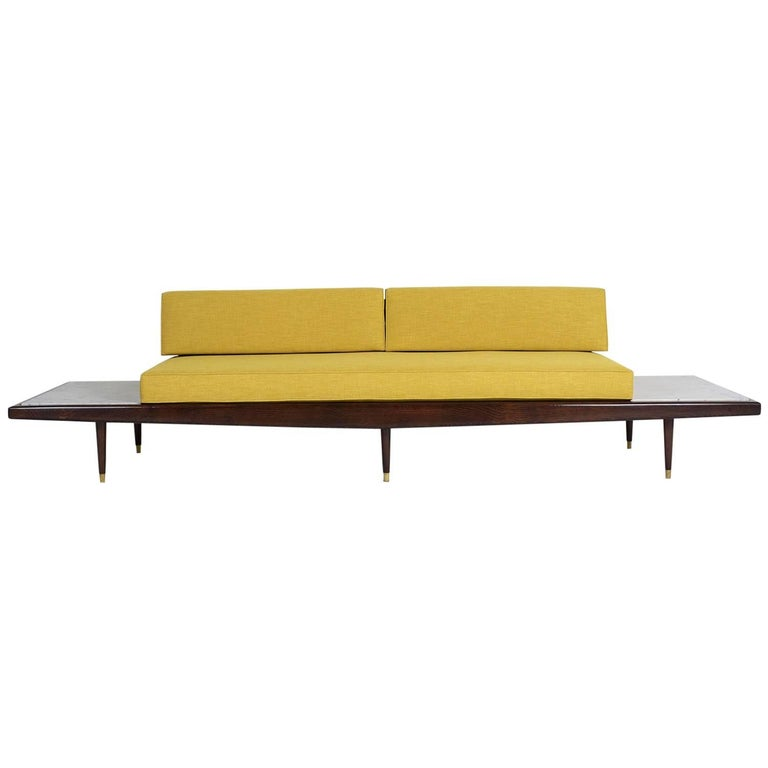 Midcentury Adrian Pearsall Sofa with Side Tables