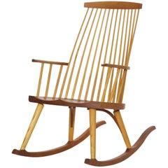 "Thomas Moser ""New Gloucester"" Rocker Rocking Chair, circa 1992"