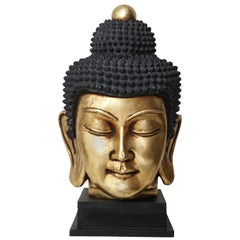 Vintage Thai Buddha Head