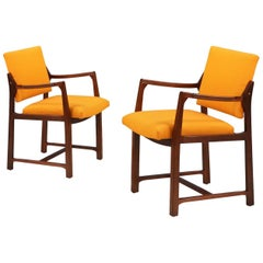 Edward J. Wormley Easy Lounge Chairs for Dunbar