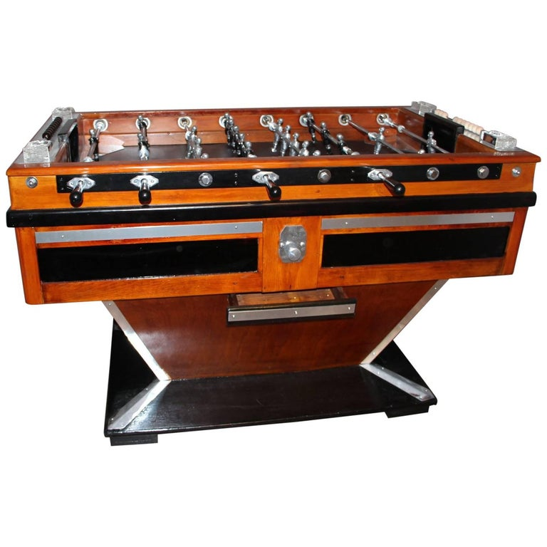 1950s French Foosball Table