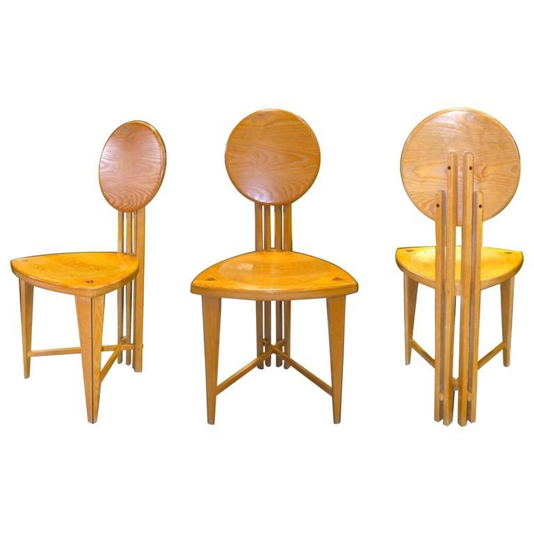 Circle Back Chairs by Gregg Lipton