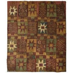 Pre Columbian Rare Inca Textile Panel