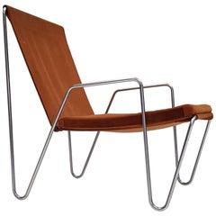 Verner Panton 'Bachelor' Easy Chair, Manufactured by Fritz Hansen, Denmark, 1955