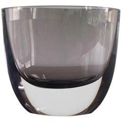 Christian von Sydow for Kosta Boda Smoke-Colored Glass Vase