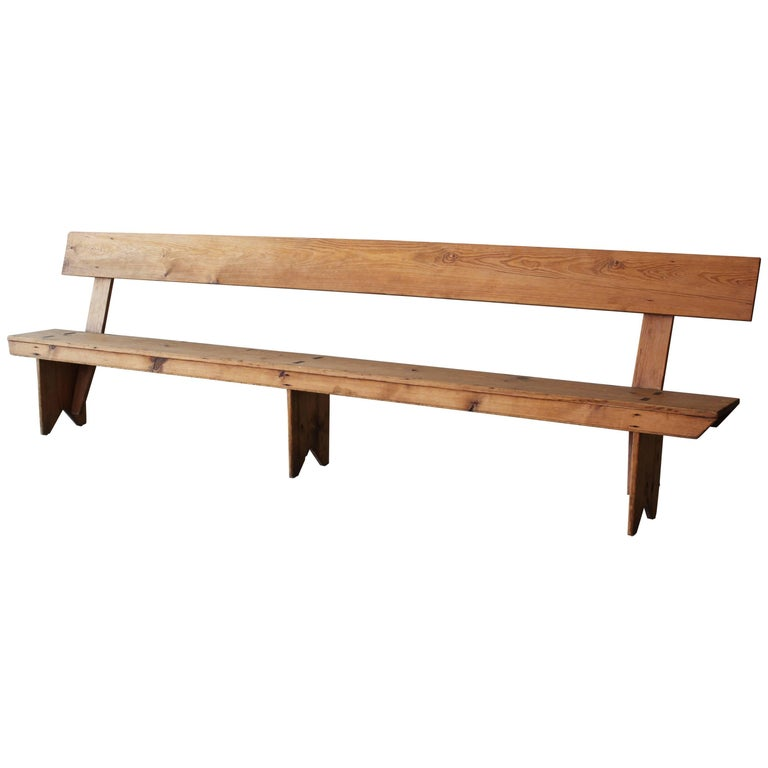 11 Foot Farmhouse Bench For Sale