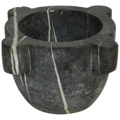 18th-19th Century, French Blue Stone Mortar