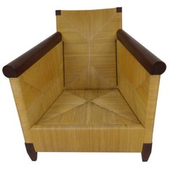 Donghia Merbau Club Chair