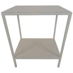 Baldwin Side Table, White