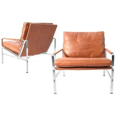 Pair of Lounge Chairs Preben Fabricius and Jorgen Kastholm