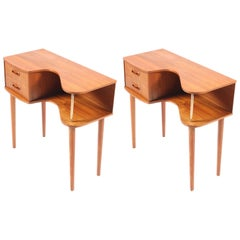 Pair of Danish End Tables