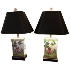 Pair of Beautiful Chinese Table Lamps
