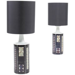 Pair of Table Lamps by Royal Copenhagen