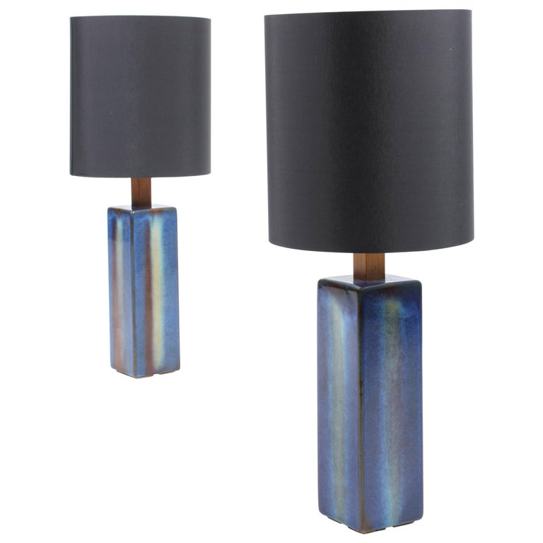 Pair of Danish Table Lamps