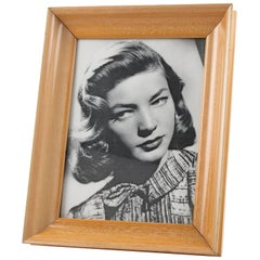 French Hollywood Regency Sycamore Picture Photo Frame