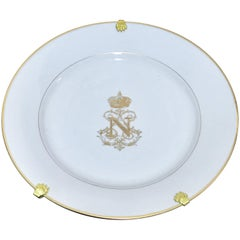 Sèvres Plates from the Service of Napoleon III
