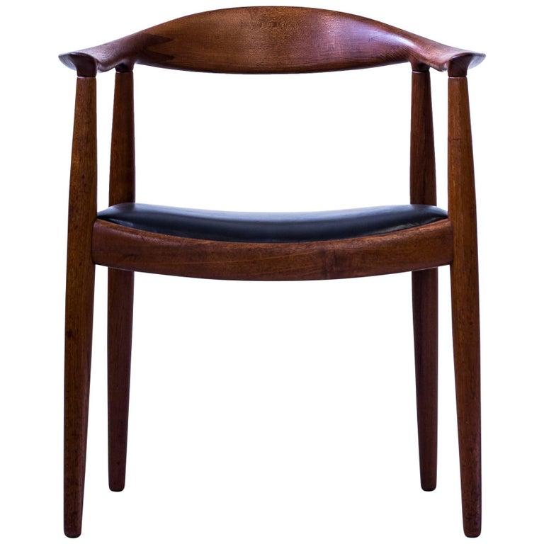 """""""The Chair"""" by Hans J. Wegner for Johannes Hansen, Denmark, 1950s"""
