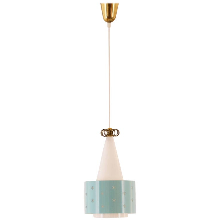 Paavo Tynell Pendant Lamp Model N-9241 for Idman