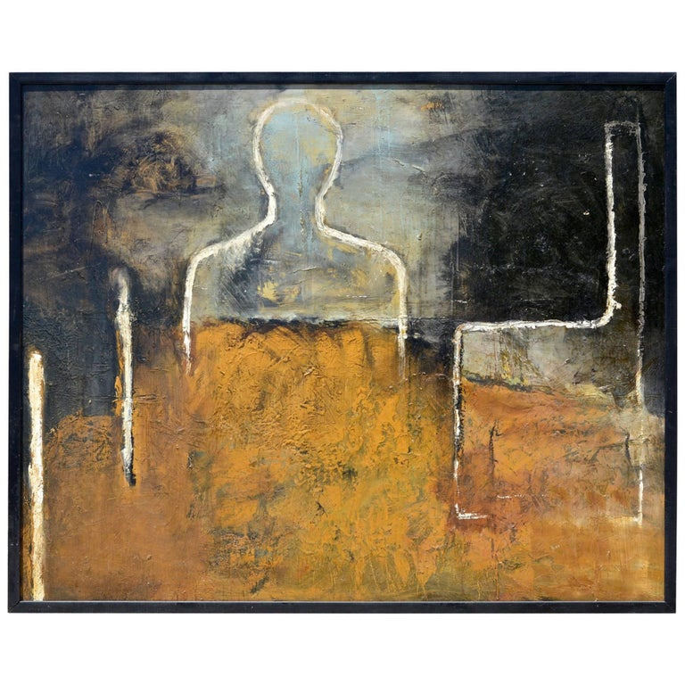 A Large Abstract Painting