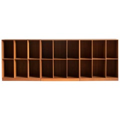 Mogens Koch Bookcases in Teak for Rud. Rasmussen