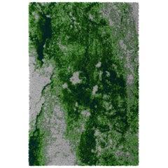 Green Velvet Rug