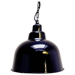 Black Ceiling Lamp, circa 1950 from France