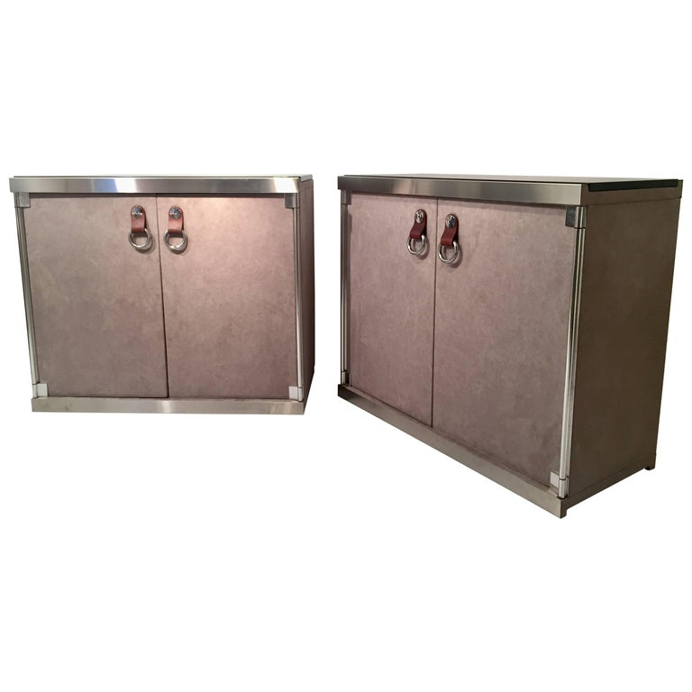 Pair of Guido Faleschini Cabinets