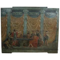 Italian 18th Century Classical Painted Panel