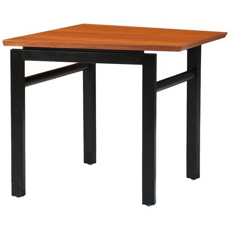 Edward J. Wormley Walnut Side Table for Dunbar