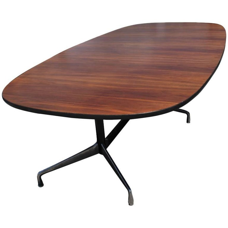 Vintage Herman Miller Eames Rosewood Conference Table