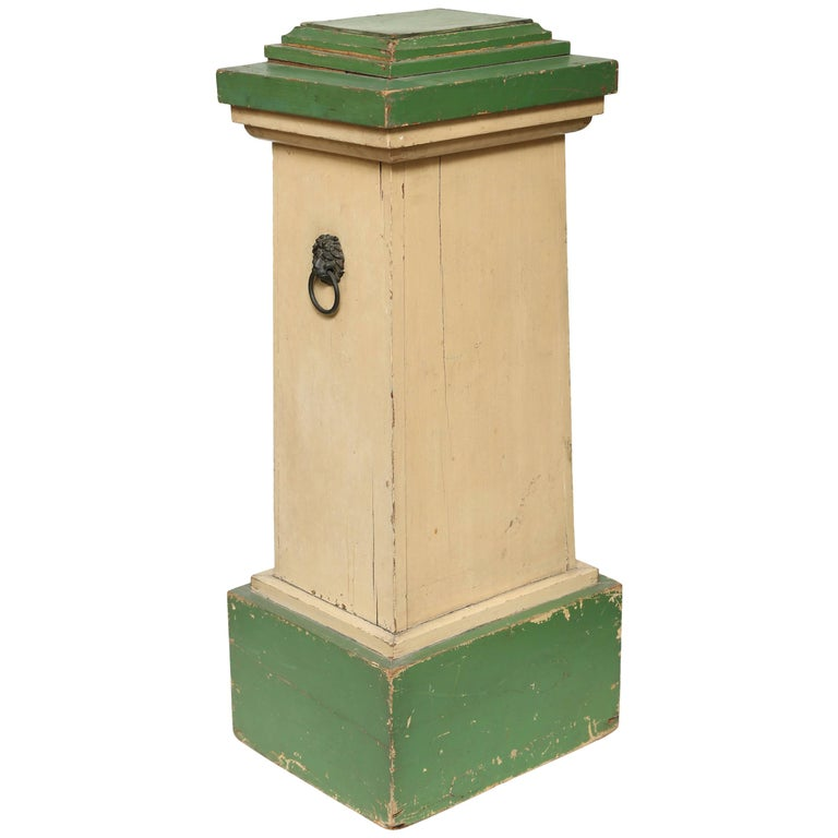 Painted Wood Conservatory Pedestal