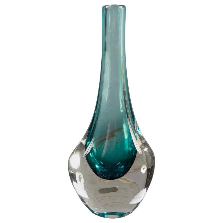 Glass Vase by Smalandshyttan, Sweden, 1960s