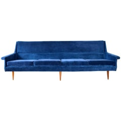 Early Milo Baughman Angular Sofa for Thayer Coggin