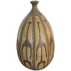 Clyde Burt Studio Pottery Weed Vase