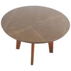 Contemporary Ceramic Round Dining Table