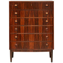 Kai Kristiansen Chest of Drawers, Rosewood