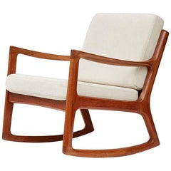 Ole Wanscher Senator Rocking Chair, Teak