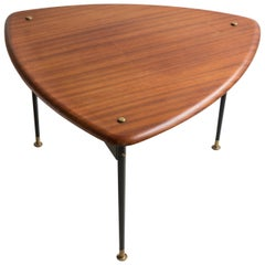 Danish 1960s Plectrum Coffee Table