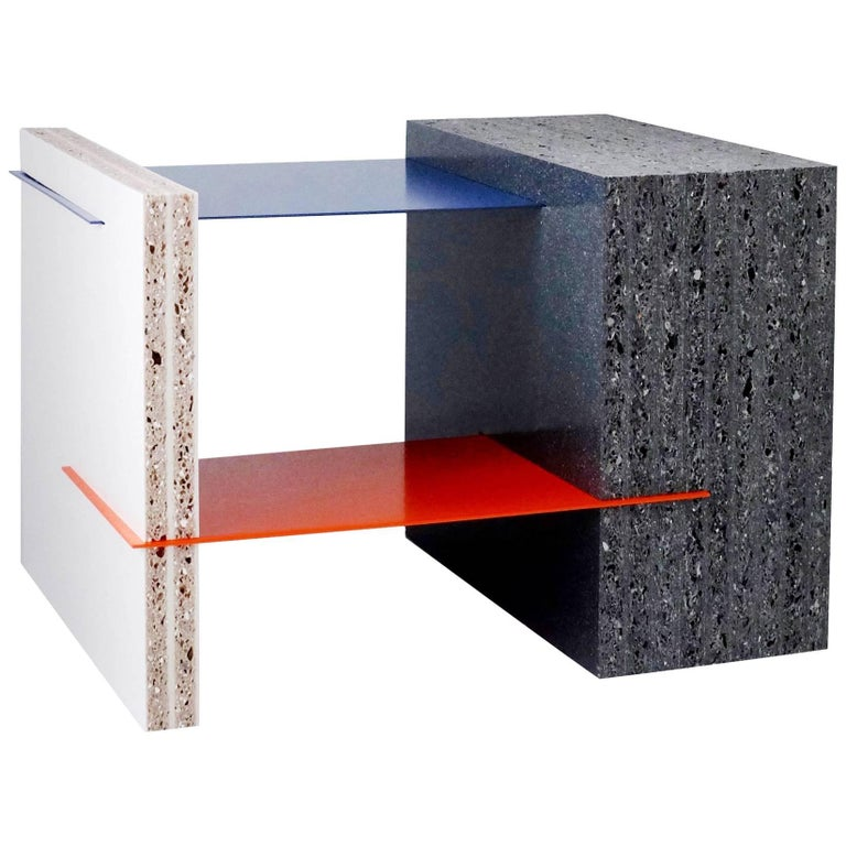 Marfa Coffee Table Small made in 100% Recycled Plastic For Sale