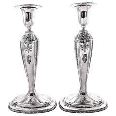 Sterling Silver D'Orleans Candlesticks