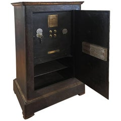 Early 20th Century Italian Cast Iron Safe from the Conte Di Savoia Ocean Liner
